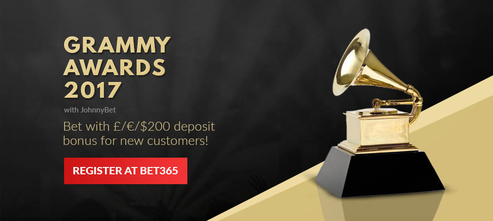 Grammy Awards 2017 Betting Tips, Predictions, Odds