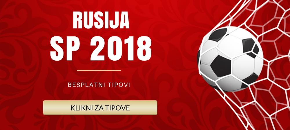 SP 2018 Rusija - Grupe i Raspored