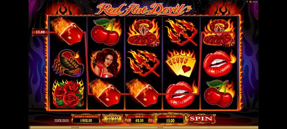 red hot devil slot machine online free casino game review. Black Bedroom Furniture Sets. Home Design Ideas