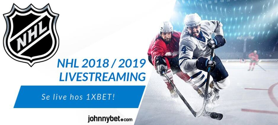Gratis livestreaming nhl 1xbet