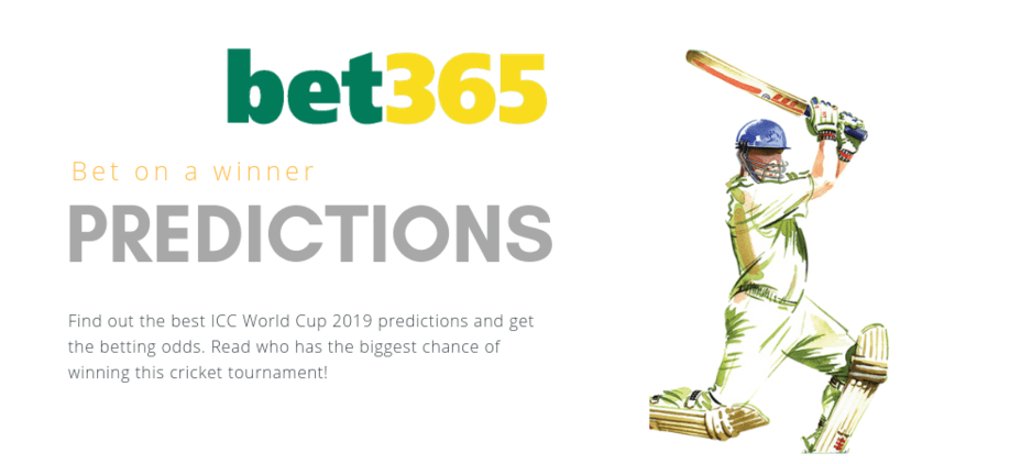 Cricket bet365