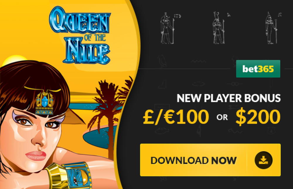 bet365 casino free play queen of the nile