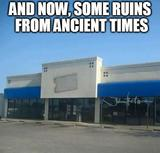 Ruins from ancient times memes