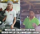 Messi and suarez funny memes