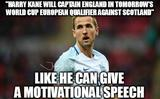 Harry kane motivational speech memes