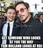 Tom holland funny memes