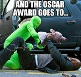The oscar goes to memes