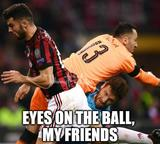 Eyes on the ball memes