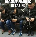 Sharing is caring memes