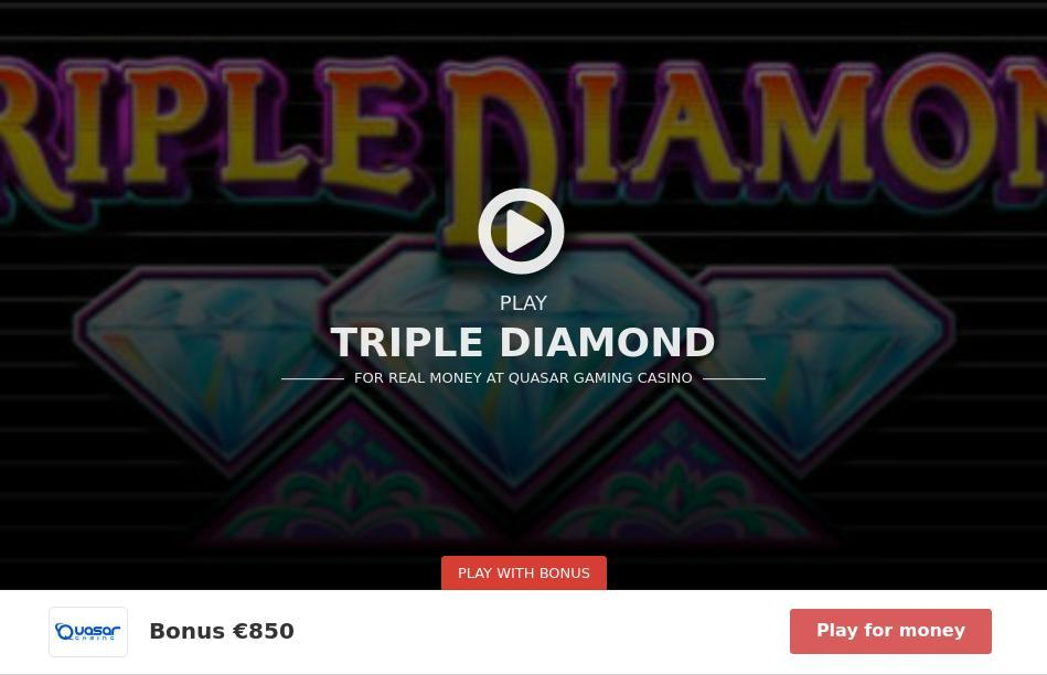 free triple diamond slot machine games