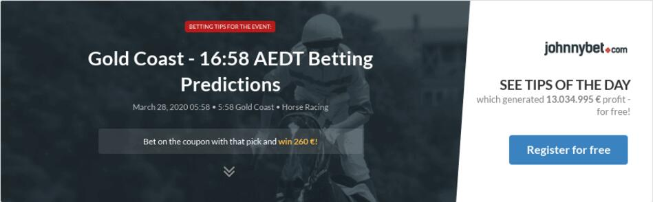 Gold Coast 16 58 Aedt Betting Predictions Tips Odds