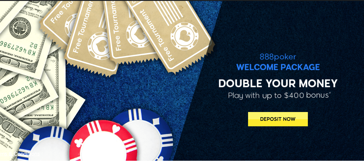 888 Poker Welcome Bonus Offer