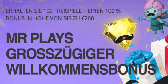 Mr Play Casino Willkommensbonus