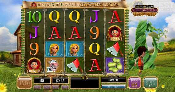 Bounty of the Beanstalk slot casino bonus