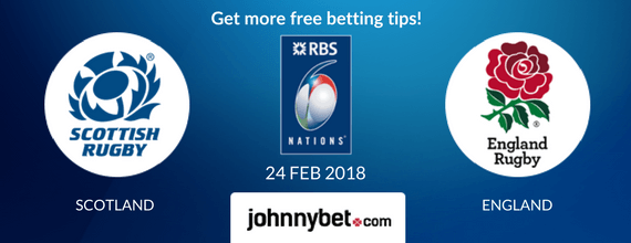 scotland vs england six nations 2018 odds and predictions