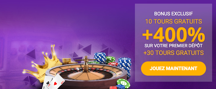 Offre VIP au Casino Royal Spinz