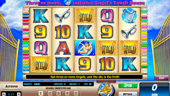 Play Angel's Touch slot machine game