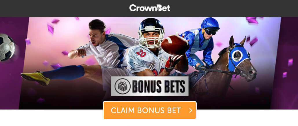 CrownBet Welcome Bonus Bets