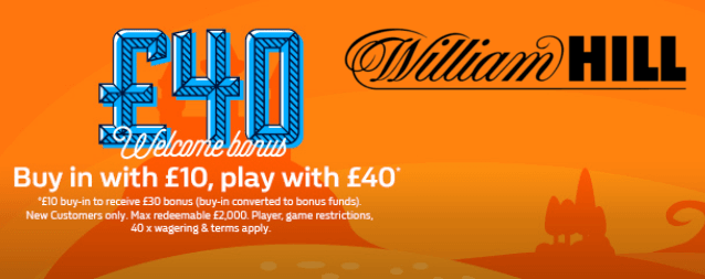 william hill bonuskode casino bonus