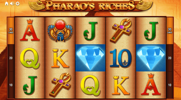 Pharaos riches alternatywna gra apex automat